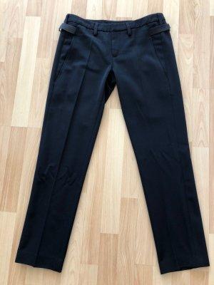 Dondup Pantalon à pinces noir laine