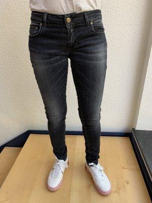 Dondup Pantalone cinque tasche nero