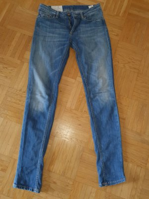 Dondup Straight Leg Jeans multicolored cotton