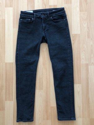 Dondup Jeans Monroe, Größe 29, schwarz