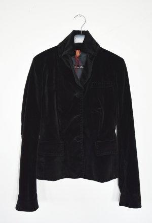 Dondup Blazer de esmoquin negro tejido mezclado