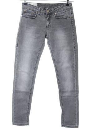 Dondup Skinny Jeans hellgrau-weiß Casual-Look
