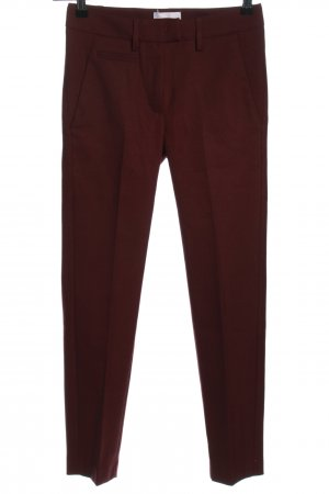 Dondup Stoffhose rot Business-Look