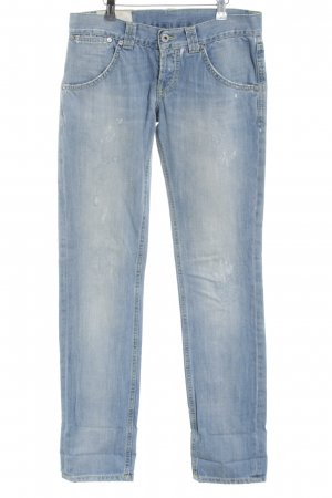 Dondup Straight-Leg Jeans blau Casual-Look