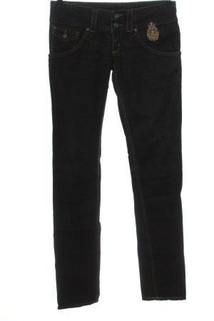 Dondup Jeansy z prostymi nogawkami czarny W stylu casual