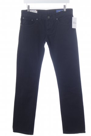 Dondup Straight-Leg Jeans schwarz Casual-Look