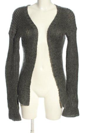 Dondup Cardigan in maglia grigio chiaro stile casual