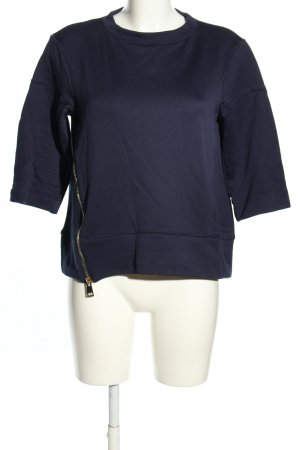 Dondup Sweat Shirt blue casual look