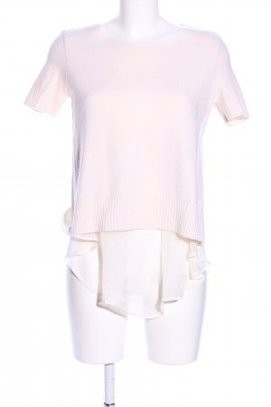 Dondup T-Shirt pink-weiß Casual-Look