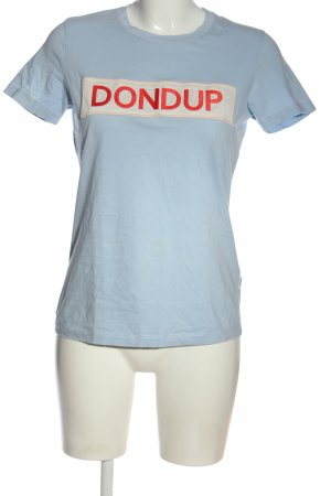 Dondup T-Shirt embroidered lettering casual look