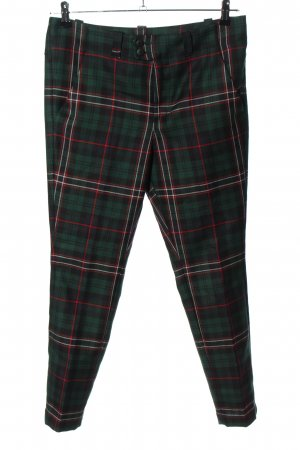 Dondup Wollhose Karomuster Casual-Look