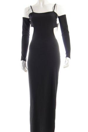 Donna Ballkleid schwarz extravaganter Stil