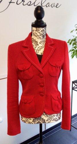 Donna Blazer Größe 36 in Rot, von Hallhuber