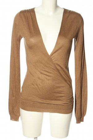 Donna by hallhuber Knitted Jumper brown casual look