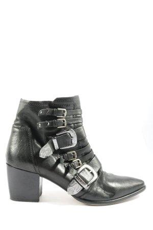 Donna Carolina Botki czarny W stylu casual