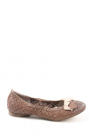 Donna Carolina Klassische Ballerinas braun Casual-Look