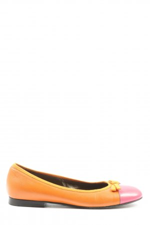 Donna Carolina Klassische Ballerinas hellorange-pink Casual-Look