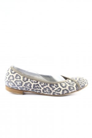Donna Carolina faltbare Ballerinas Leomuster Casual-Look