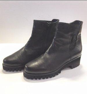 Donna Carolina Leder Boots Neuwertig