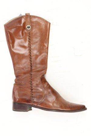 Donna Carolina Stiefel Größe 37 braun aus Leder