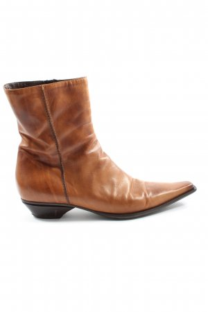 Donna Carolina Western Booties brown elegant