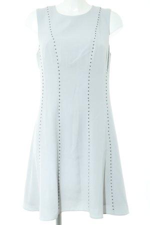 Donna Karan A-Linien Kleid hellgrau Elegant
