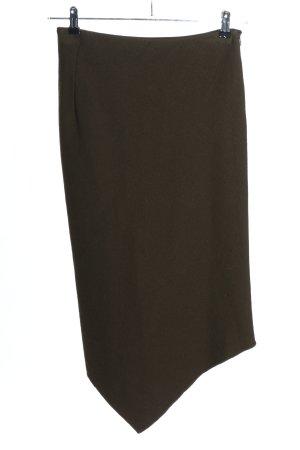 Donna Karan Asymmetrie-Rock bronzefarben Casual-Look
