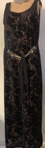 DKNY Vestido de noche negro Poliéster