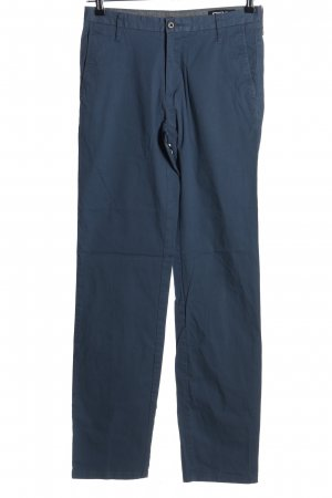 Donna Karan Chinohose blau Casual-Look