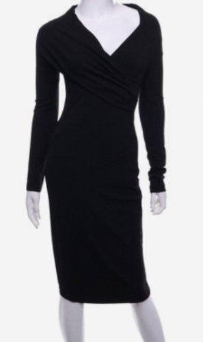 Donna Karan Kleid femininer Schnitt, Wickeloptik