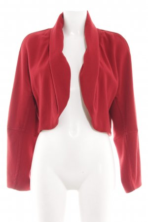 Donna Karan Kurzjacke rot Business-Look