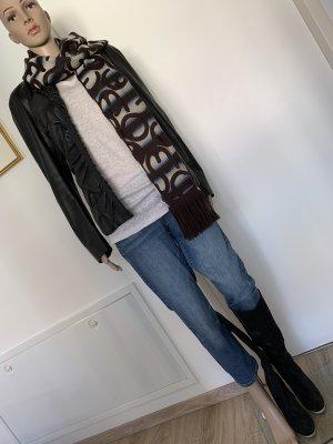 Donna Karan Lamm nappa Jacke 38