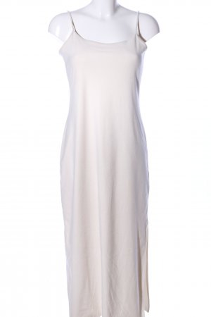 Donna Karan Maxikleid wollweiß Casual-Look
