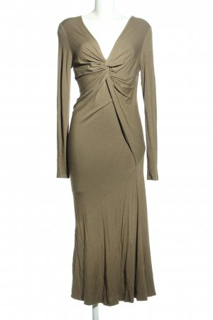 Donna Karan Maxikleid khaki Casual-Look