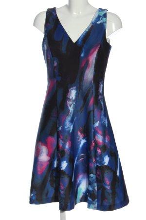 Donna Karan Minikleid abstraktes Muster Elegant