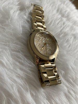 DKNY Orologio con cinturino di metallo oro
