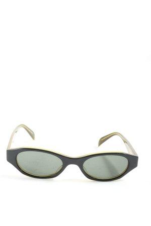 Donna Karan ovale Sonnenbrille
