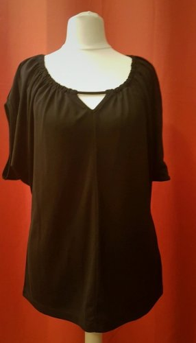 Donna Karan Top cut-out nero