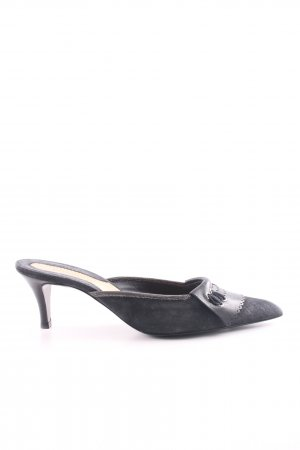 Donna Karan Spitz-Pumps blau Casual-Look