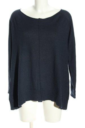 Donna Karan Pull tricoté bleu style décontracté