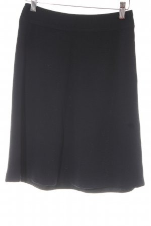 Donna Karan Knitted Skirt black simple style