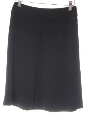 Donna Karan Jupe tricotée noir style simple