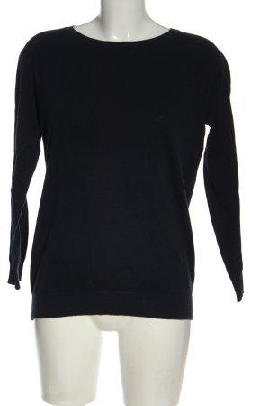 Donna Lane Fine Knit Jumper black casual look