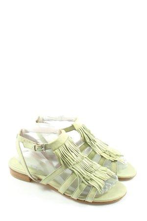 Donna Piu Sandales confort vert style décontracté