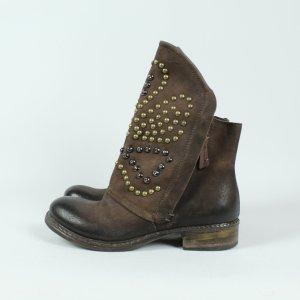 DONNA PIU Stiefeletten Boots Gr. 37 braun (19/09/061)