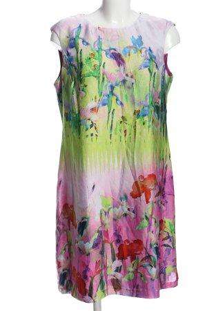Donna Ricco A-Linien Kleid abstraktes Muster Elegant