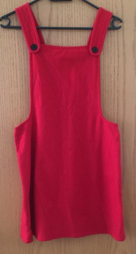 DONNA MIA Pinafore dress red