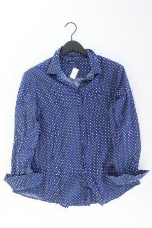 Donnell Bluse Größe 42 gepunktet blau