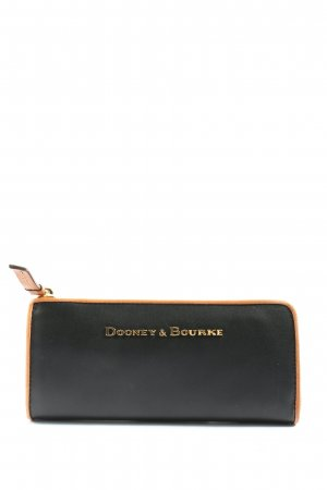 Dooney & Bourke Portefeuille noir style décontracté