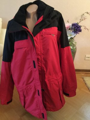 active Veste double noir-rouge